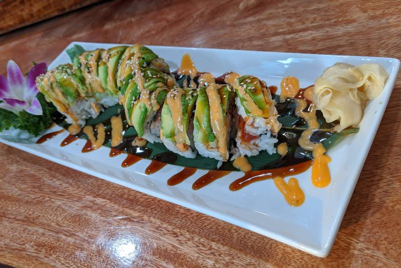 West Maui Sushi at Lahaina Ko