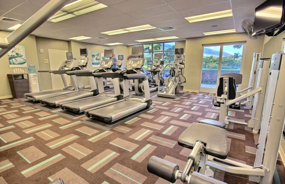Stay on top of your workout at the 24 hour fitness center
