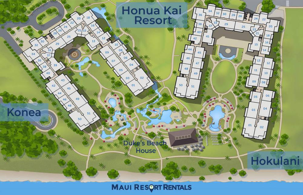 Honua Kai has two towers - Hokulani and Konea