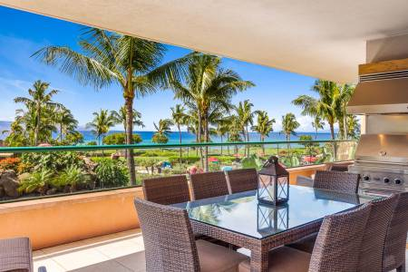Welcome home to Konea 202–a gorgeous 3 bedroom OCEANFRONT residence
