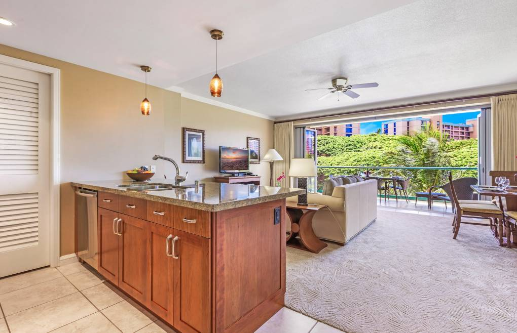 One of the largest one-bedroom floor plans at Honua Kai