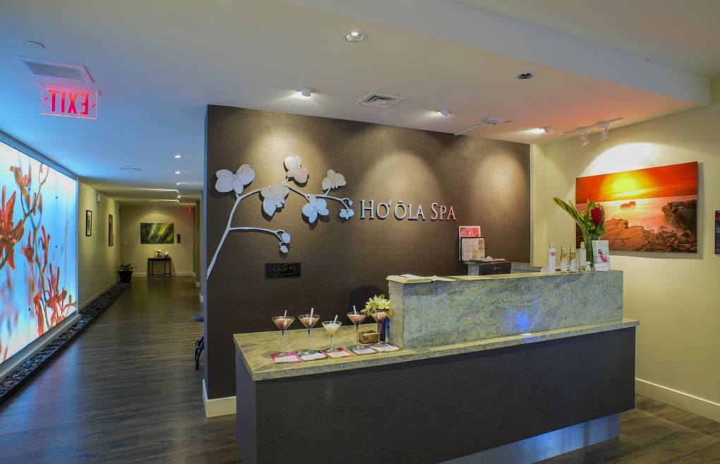 Indulge in a treatment at the acclaimed Ho'ola Health Spa