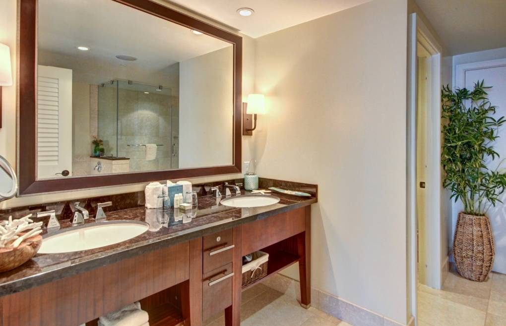 Luxurious second master bath