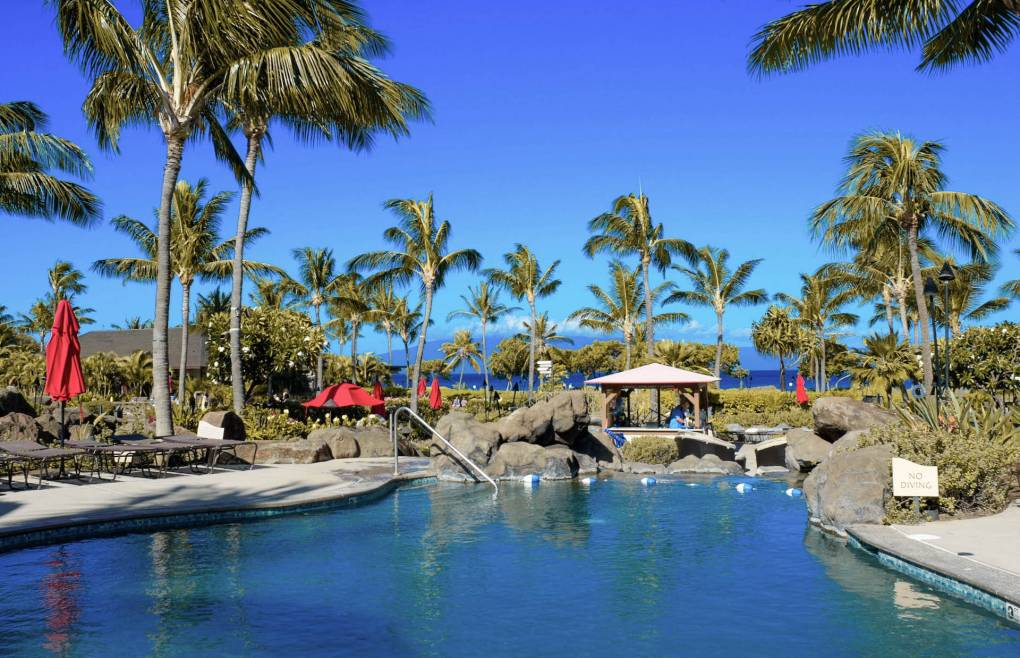 Honua Kai's 4 separate pools offer plenty of fun for everyone