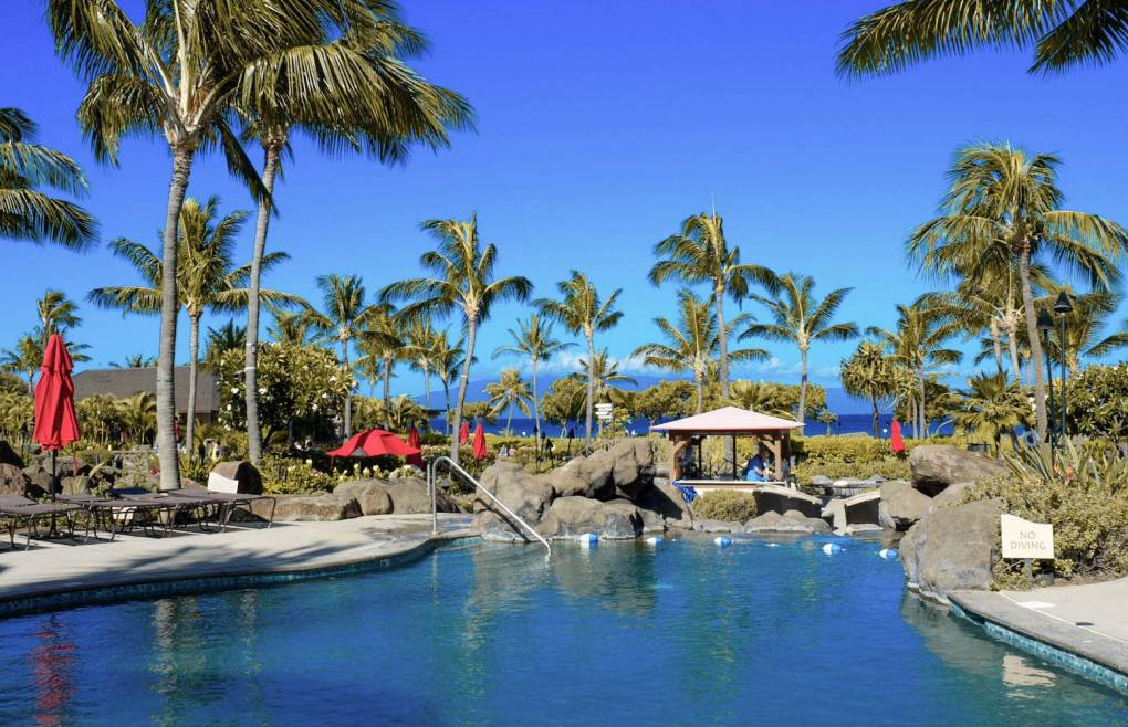 Honua Kai offers 4 separate pools for plenty of fun for everyone