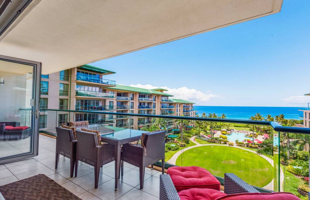 Relax outside on the expansive 240 sq. ft. balcony