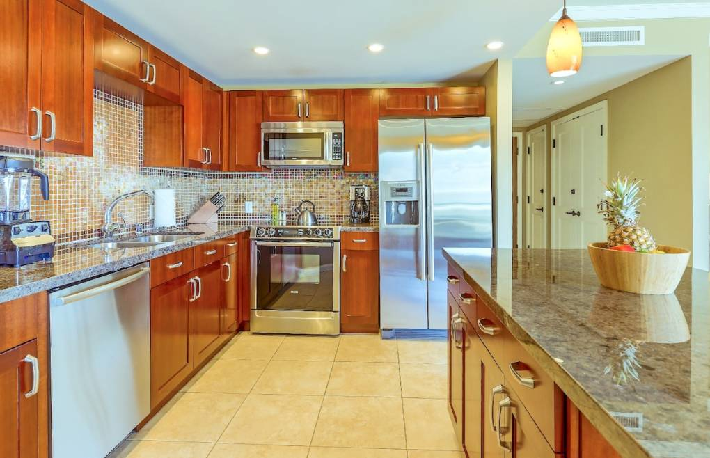 Offering a full modern kitchen for your culinary creativity