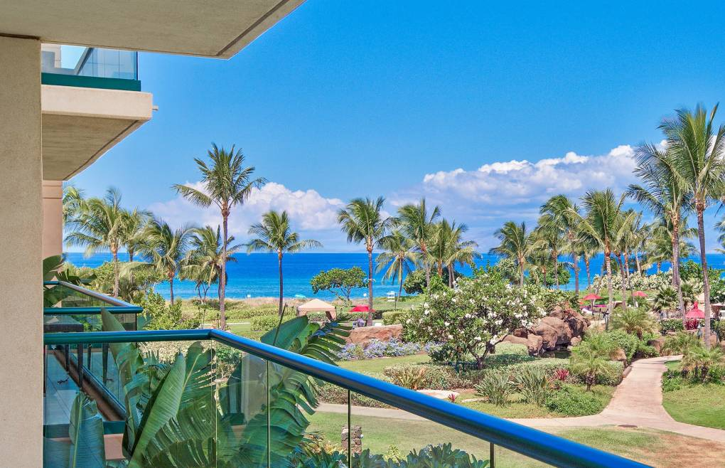 Boasting partial ocean views of the tranquil blue Pacific Ocean