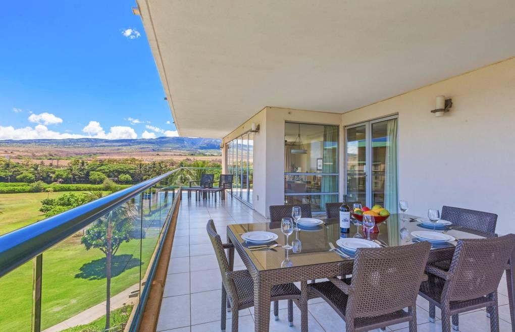 Boasting a massive 500+ sq ft balcony