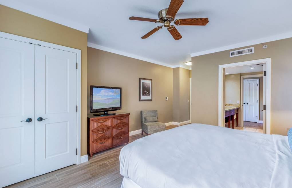 Every room has a flat panel TV for your viewing pleasure