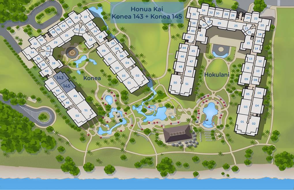 Sitemap for Konea 143 and Konea 145
