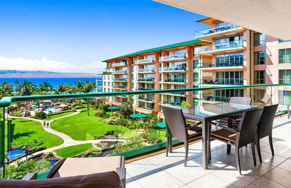 Step outside onto the spacious 230 sq ft balcony