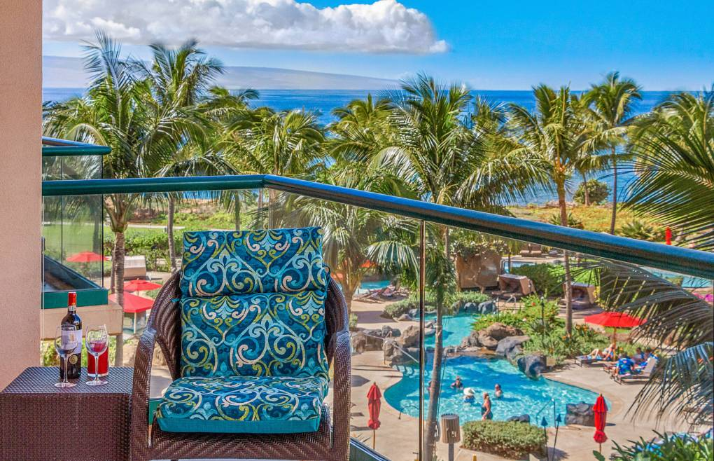And a prime view of Honua Kai's award-winning poolscape