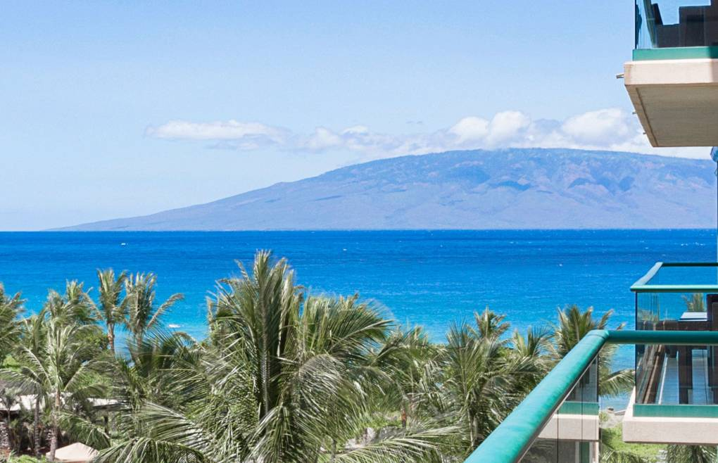 Also offering views of the lush interior courtyard and Maui's neighbor island Lanai