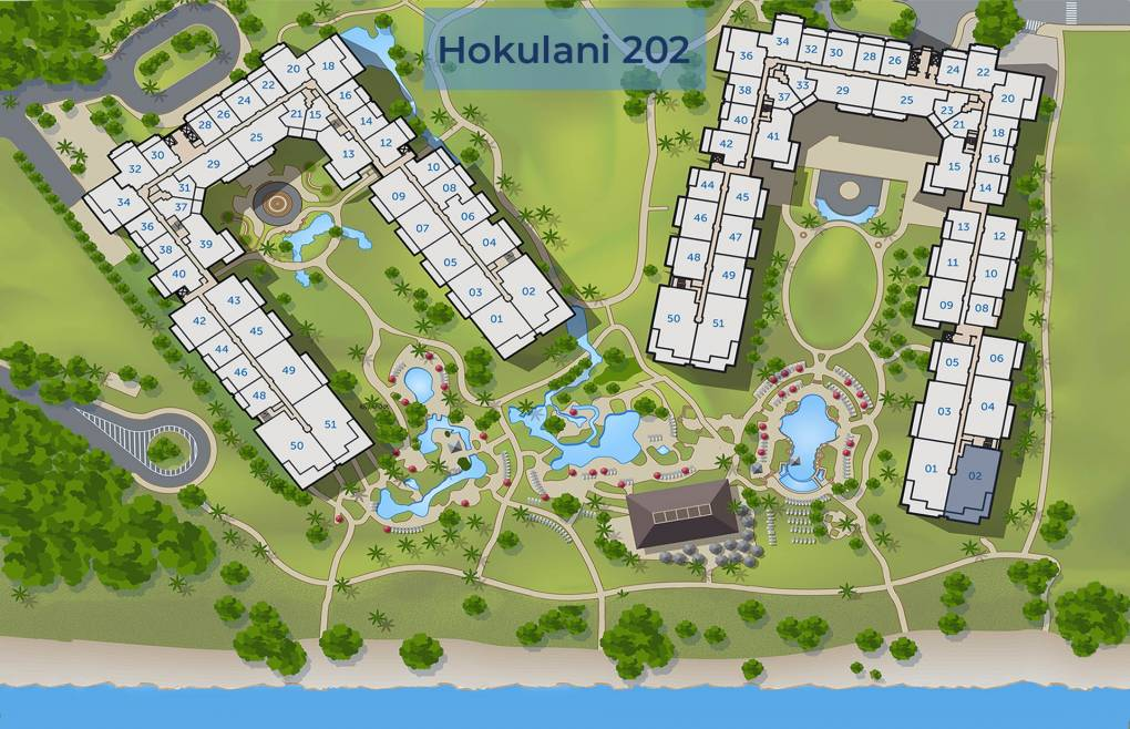 Hokulani 202 Resort Location