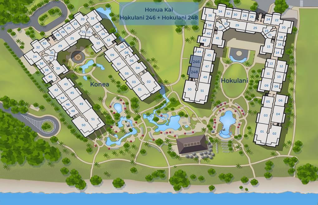 Hokulani 246 and Hokulani 248 sitemap