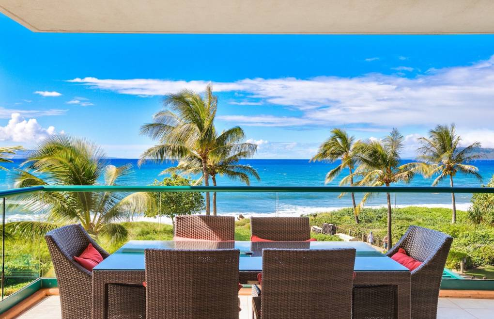 An immaculate 3 bedroom OCEANFRONT residence never before available for rental