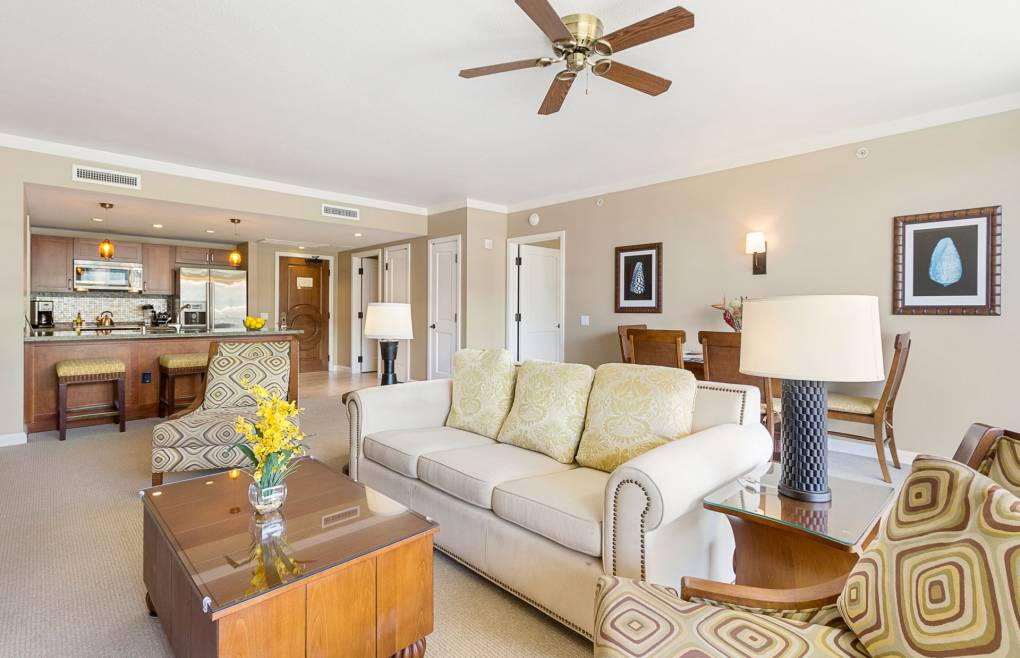 A spacious 1300+ sq ft interior living area offers plenty of room to gather and reconnect