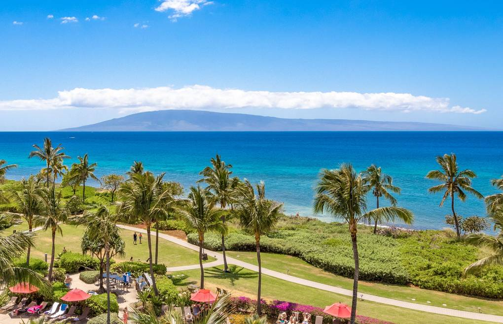 With sweeping Pacific Ocean views from Black Rock to Lanai and beyond