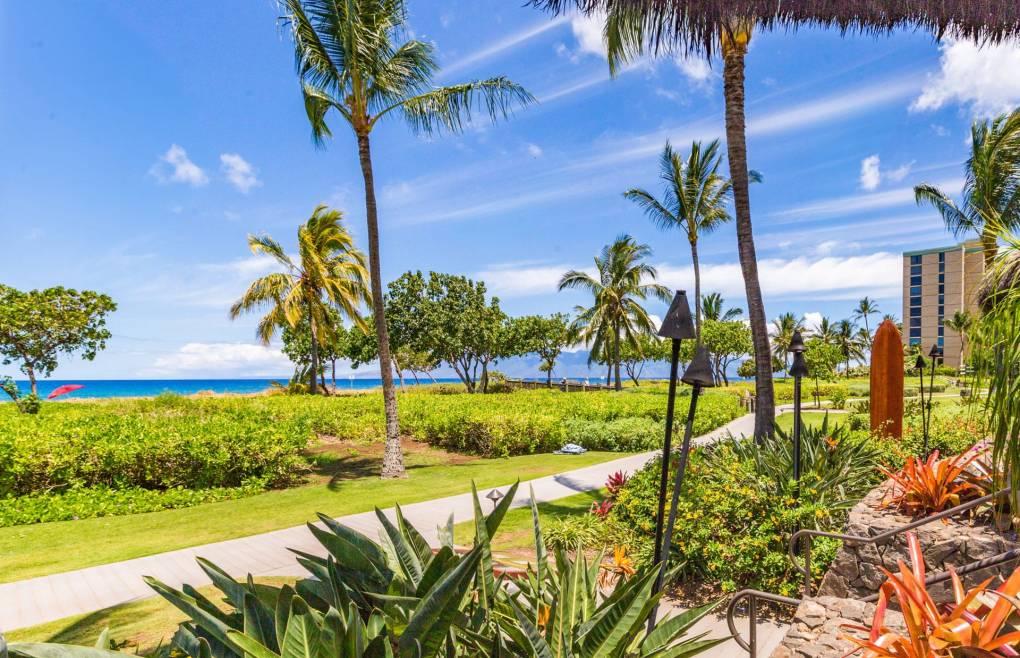 Take a stroll on the Kaanapali North beach path