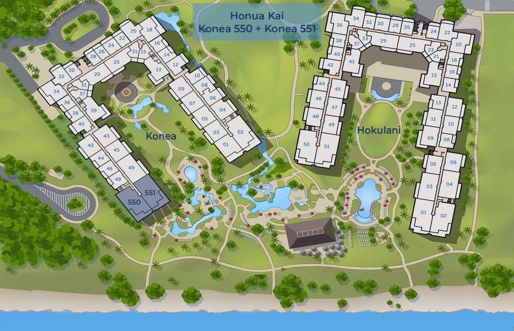 Konea 550 and Konea 551 Sitemap